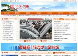 网站建设策划案例_安徽省政府