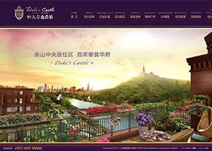 网站建设策划案例_上海松裕置业(恒大佘山首府)